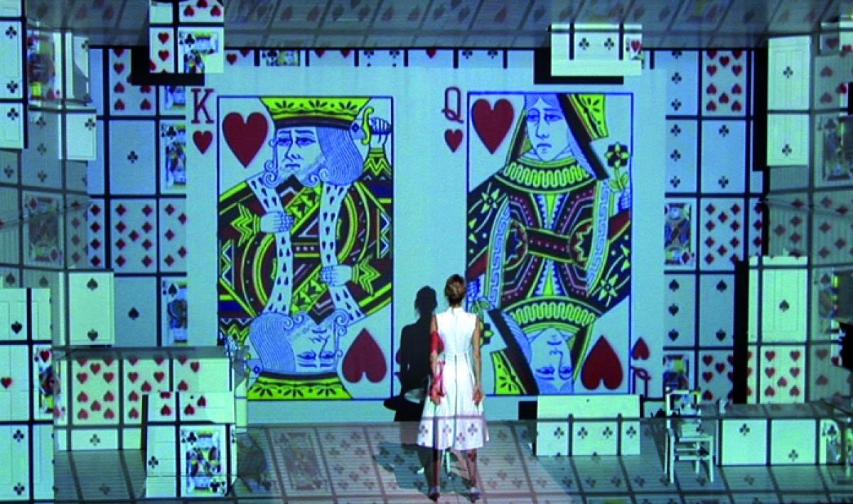 Maison des arts de cr teil work les aventures d 39 alice - Maison alice au pays des merveilles ...